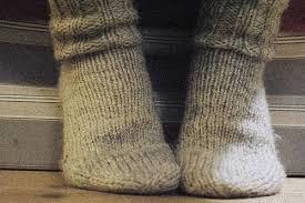 wear wool socks instead of cotton socks with work boots