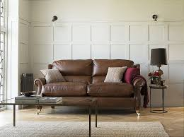 Parker Knoll Henley  Seater Leather Sofa - Henley leather sofa