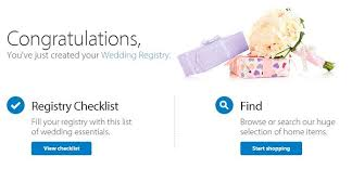 register for wedding gifts how to create a wedding registry for the top retail stores