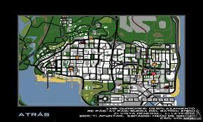 San Andreas Map Hd Radar Icons For Gta San Andreas