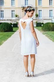 robe mari e lyon robe de mariée en sequin avec dos nu en coeur pour la mairie