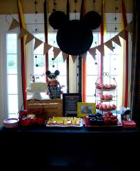 Mickey Mouse Table by Cupcake Dreams And Paper Memories Mickey Mouse Party Part 1 The