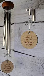baby remembrance gifts dragonfly wind chime memorial gift after loss mothers