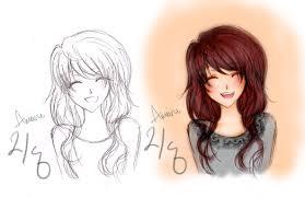 smile sketch by ameiru on deviantart