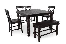 dining room table with butterfly leaf six piece 36