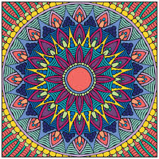 mandalas coloring book with relaxation cd color with music