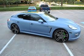 porsche dark blue metallic quick silver metallic porsche panamera color change car wrap city