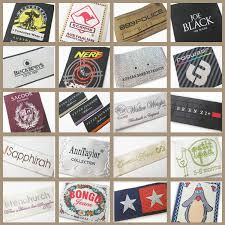 design label woven fake designer brand name woven china clothing labels buy brand