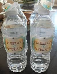 Decorate Water Bottle Custom Party Decorations Las Vegas Birthday Party Decorations
