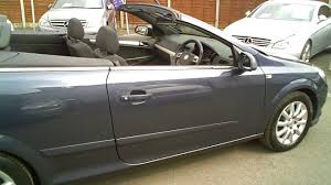 2008 vauxhall astra 1 8 vvt twintop convertible manual youtube