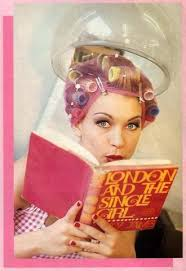 sissy boys under hair dryers reading a book while drying salons curlers pinterest