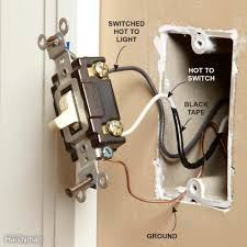 how to install light under kitchen cabinets wiring outlets and switches the safe and easy way family handyman