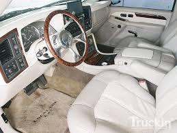 2002 cadillac escalade ext 2002 cadillac escalade ext 24 inch lexani rims truckin magazine