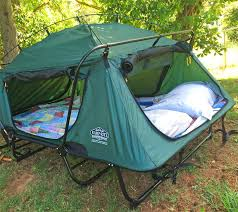 Pullout Bed Kamp Rite Double Tent Cot Is A Pullout Bed In Tent Form
