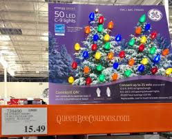 ge led icicle lights costco costco christmas trees christmas decorations christmas lights 2013