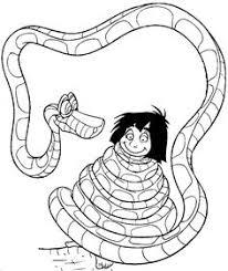 hathi jr mowgli jungle book coloring picture2 jungle