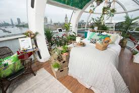 london eye capsule transformed into rainforest inspired tiny home
