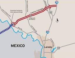 mexico toll road map txdot fees on camino colombia toll road will be waived while