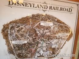 Railroad Map Disneyland Railroad Map In Main Street Station U2013 The Geek U0027s Blog