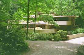 fallingwater frank lloyd wright kaufmann house above the
