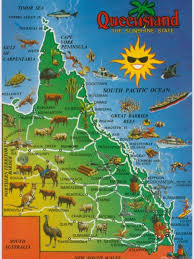 map of queensland map of queensland late live abc radio national
