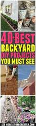 40 the best diy backyard projects and garden ideas decorextra