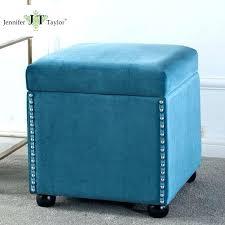 blue round ottoman blue storage ottoman with tray u2013 sensuuri info