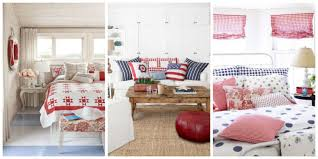 patriotic home decorations bedrooms red white and blue home decor red white and blue