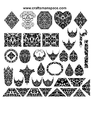 ornament vectors various forms