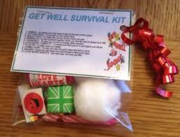 get well soon gifts get well survival kit get well soon gift for him thinking