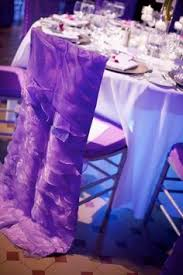 Purple Chair Covers Purple Chair Covers With Pink Sashes Wedding Ideas