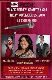 black friday comedy night