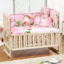 Baby Cot Bedding Sets 5pcs Set Baby Crib Bedding Set Bedding Set 110x65cm Newborn