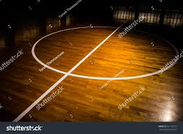 Wooden Floor by Wooden Floor Basketball Court Light Effect Stock Photo 331179770