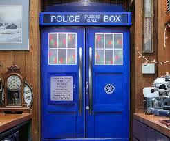 Dr Who Tardis Bookshelf Who Tardis Fridge Skin