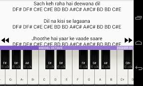 piano key notes a to z piano notes android apps on google play