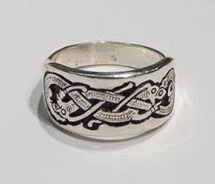 Viking Wedding Rings by Dragon Of Jelling Viking Ring