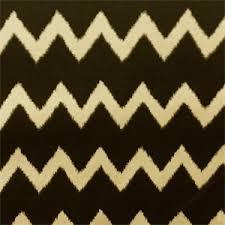 Striped Drapery Fabric Ziggy Charcoal Gray Cotton Ikat Chevron Stripe Drapery Fabric 52346