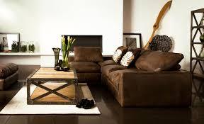 Brown Leather Armchair Design Ideas Living Room Terrific Masculine Living Room Interior Decor Using