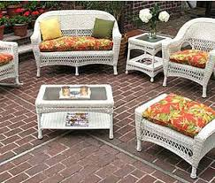 Wicker Patio Furniture Cushions Wicker Replacement Cushions For Patio Furniture Wicker Chair Cushions