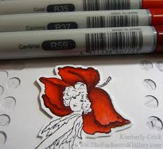 coloring techniques for rubber stamping copic markers memento
