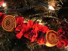 woolen ornaments and garlands sturbridge