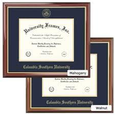 diploma frame columbia southern book store 1 csu diploma frame