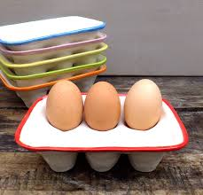 ceramic egg tray 12 handmade ceramic egg crate by gilbert and ceramics