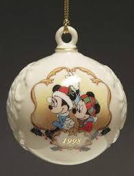lenox disney annual ornaments at replacements ltd