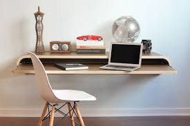 creative small writing desk design for dead end corner room