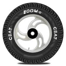 ceat zoom d 90 90 12 54j tubeless scooter tyre front or rear
