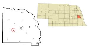 Nebraska Zip Code Map weston nebraska wikipedia