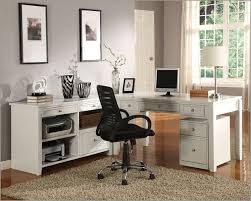 Home Office Desks White Home Office Furniture Sets In Various Style Office Furniture