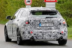 next gen bmw 1 series spotted testing and it ain u0027t rear